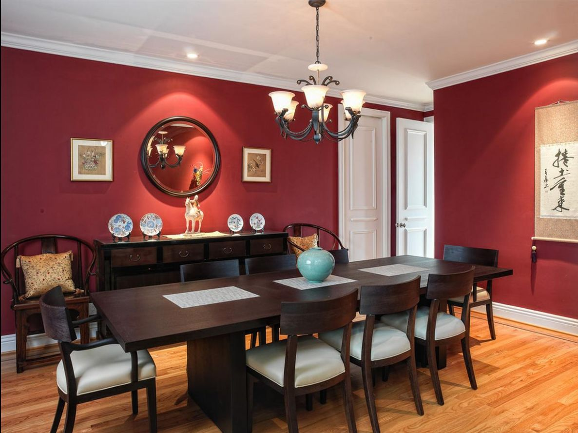 12 Of The Best Colours For Your Dining Room Revealed - dining room ideas red