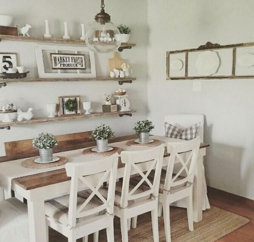 12+ Outstanding Dining Room Table Decor Ideas - TRENDUHOME - dining room decor ideas 2019