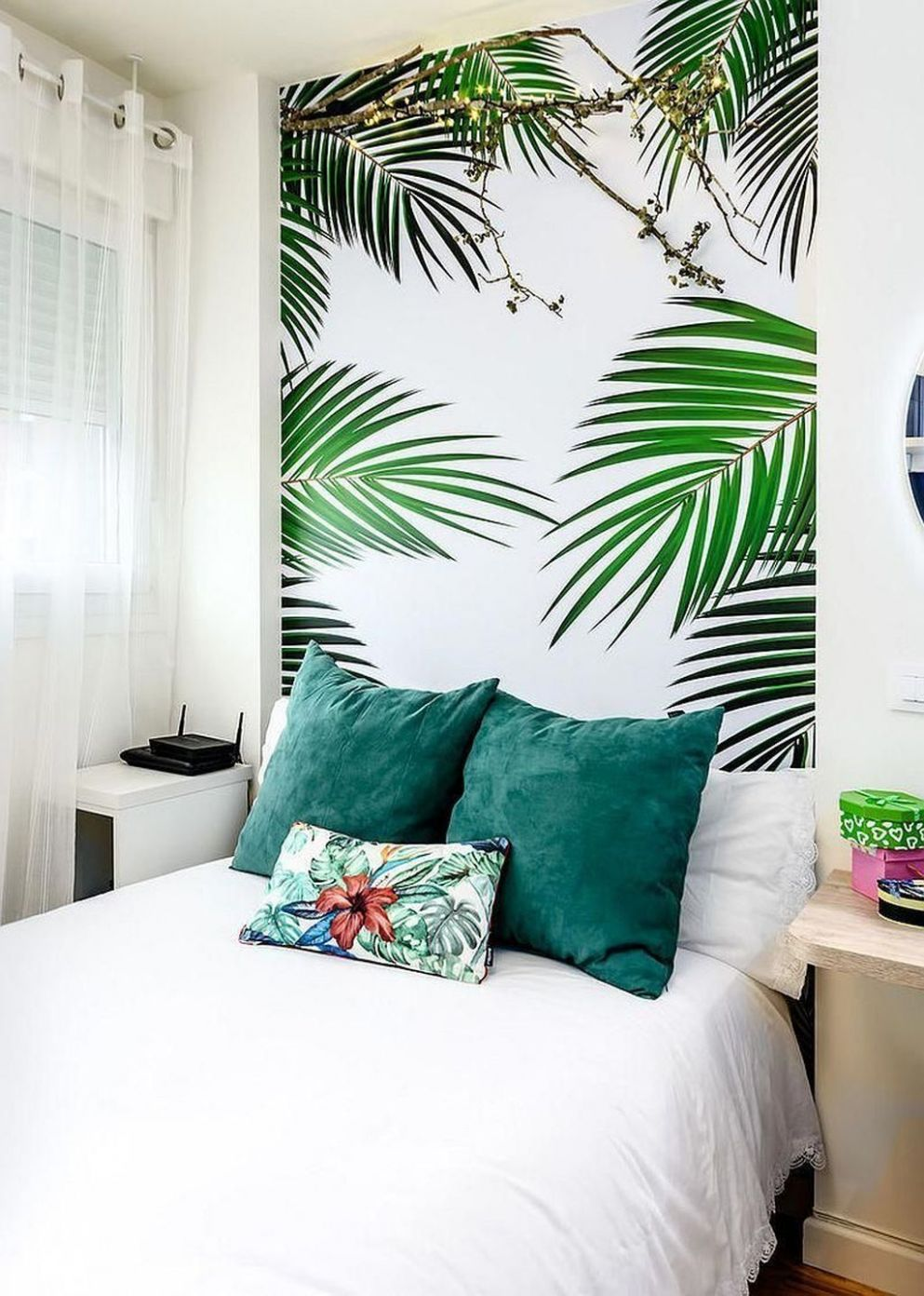 12 Relaxing Tropical Bedroom Colors | Home decor bedroom, Tropical ..