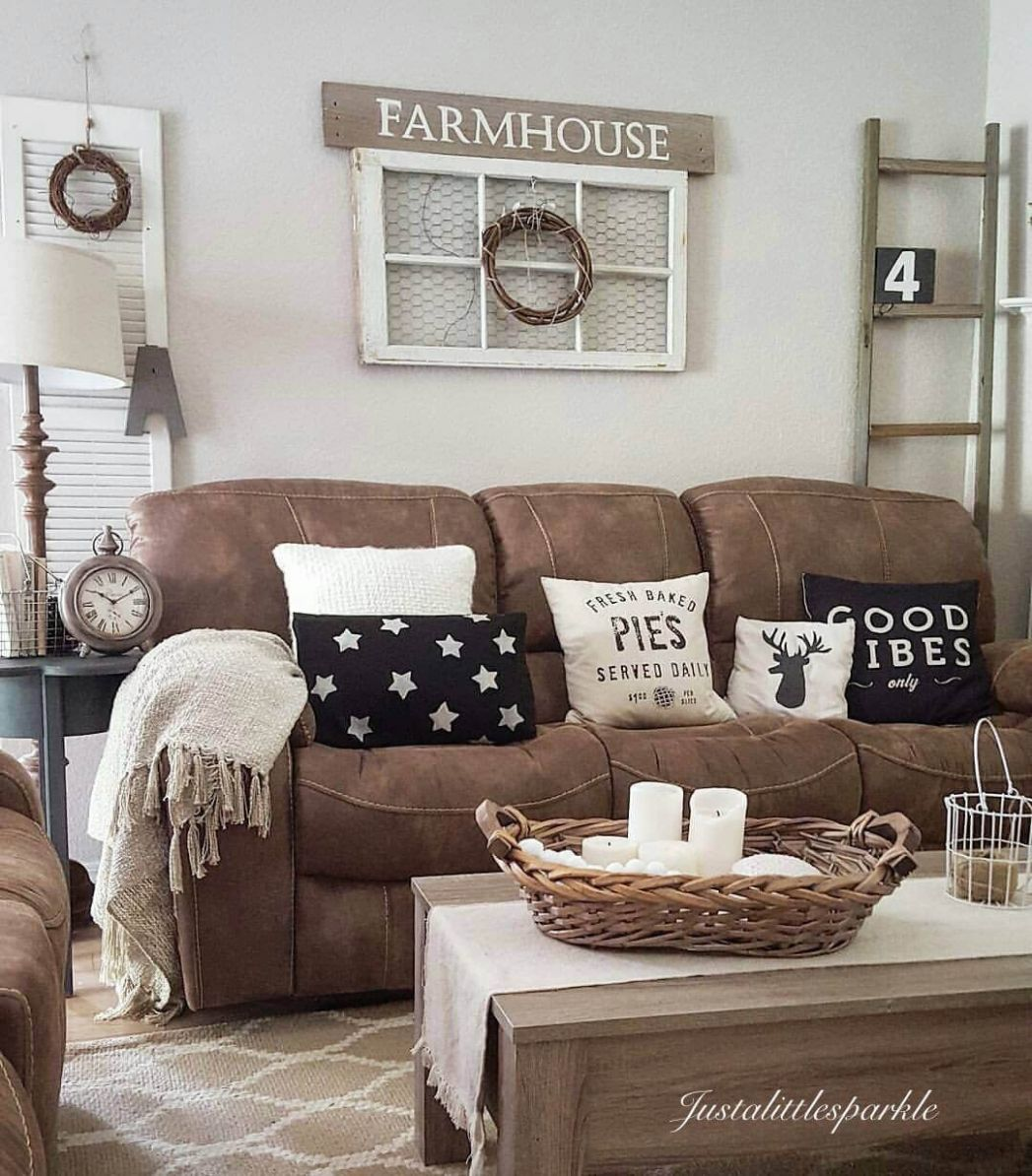 12 Rustic Farmhouse Living Room Design and Decor Ideas for Your ..