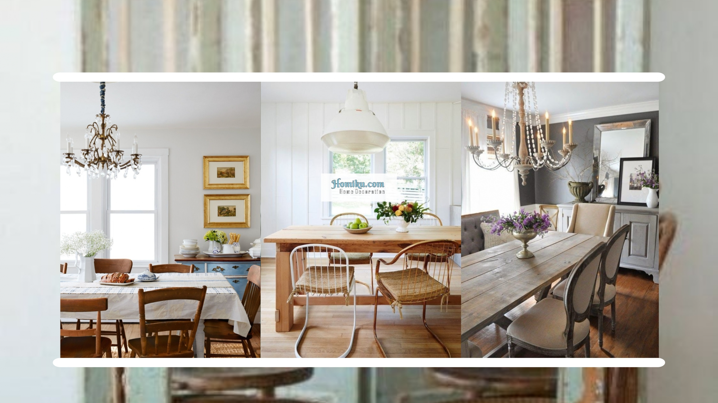 12 Rustic Glam Dining Room Makeover Ideas - Homiku