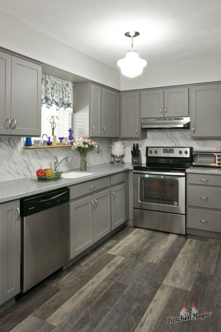 12 Scientific Reasons to Go Gray in Your Kitchen | Kitchen remodel ..