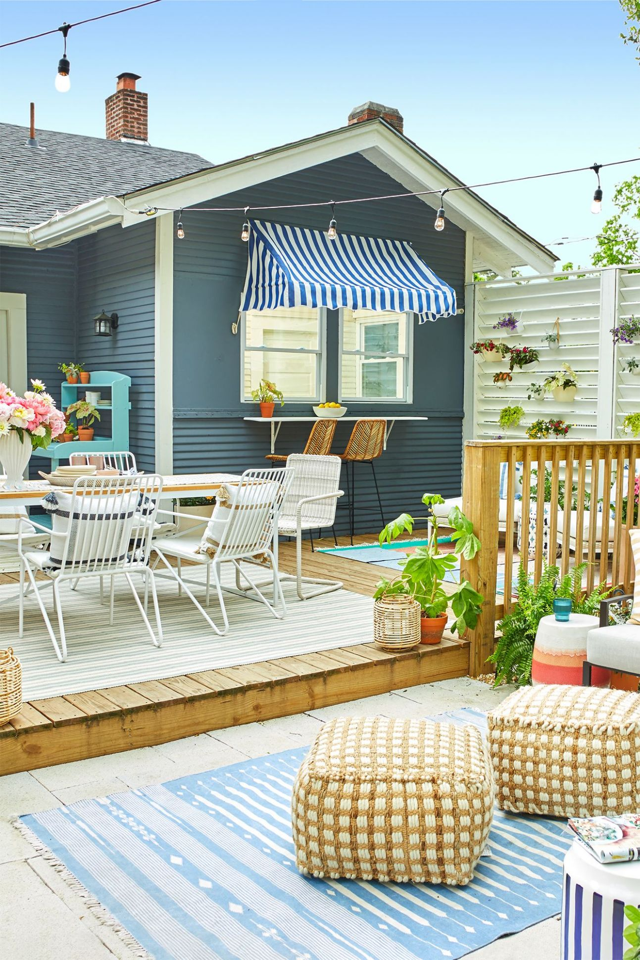 12 Small Backyard Ideas - Small Backyard Landscaping and Patio Designs - backyard ideas pictures
