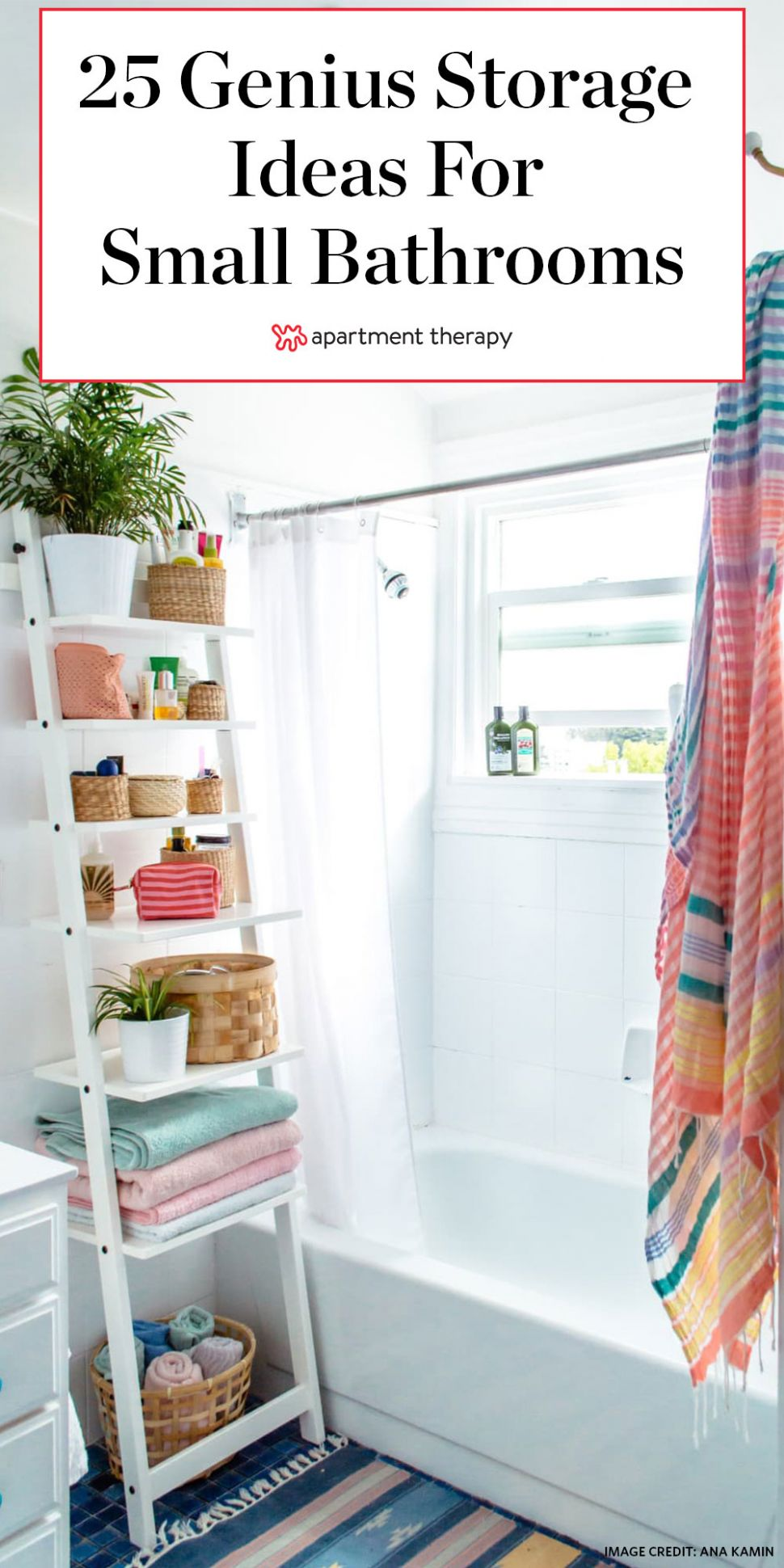12 Small Bathroom Storage & Design Ideas - Storage Solutions for ...
