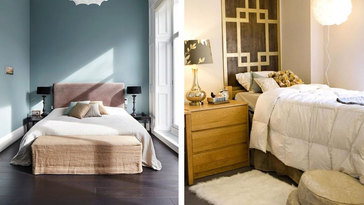 12 Small Bedroom Ideas to Make Your Room More Spacious - small bedroom ideas 9 x 11