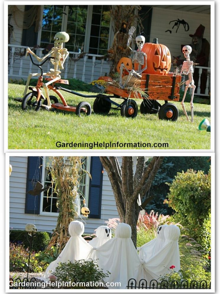 12 Spooky Halloween Yard Decor Ideas | Halloween outside ..