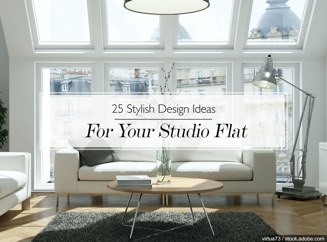 12 Stylish Design Ideas For Your Studio Flat | The LuxPad