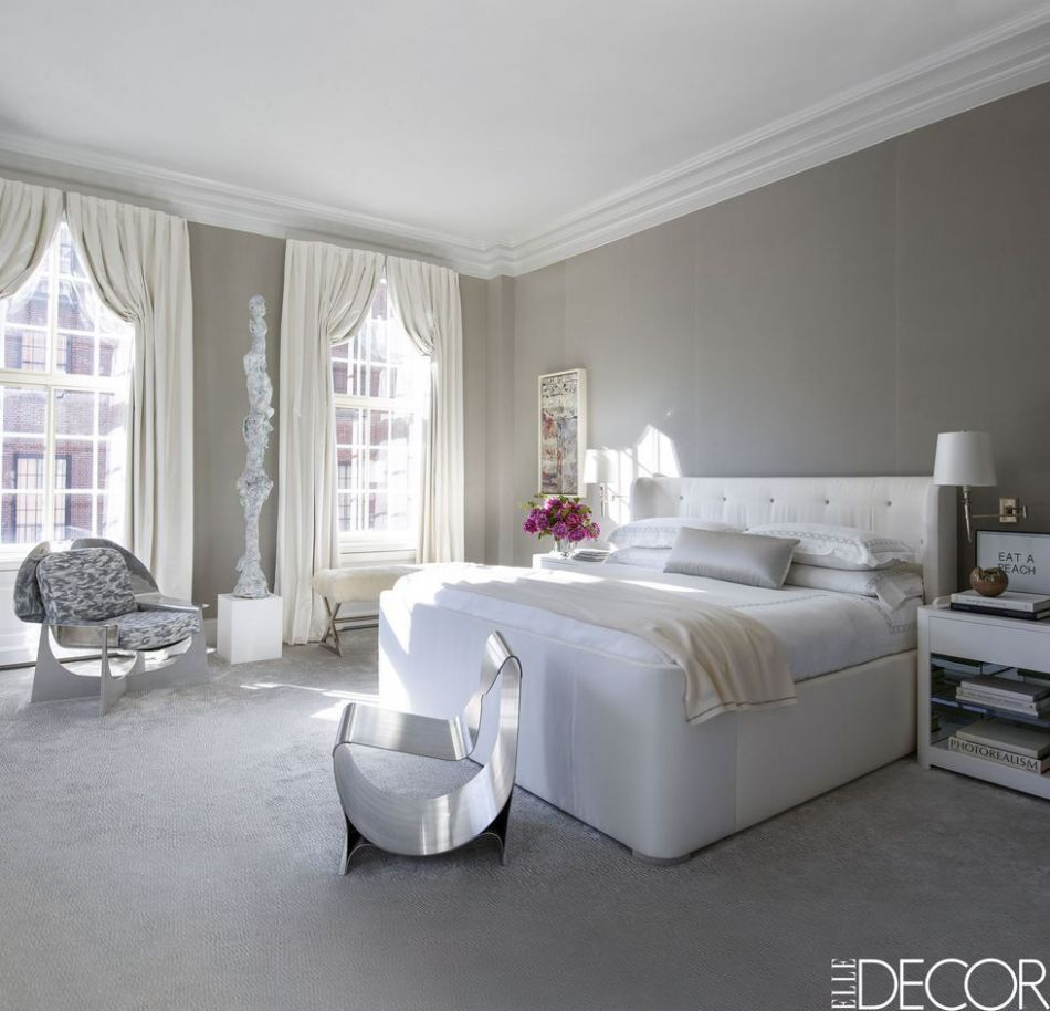 12 Stylish Gray Bedrooms - Ideas for Gray Walls, Furniture & Decor ...