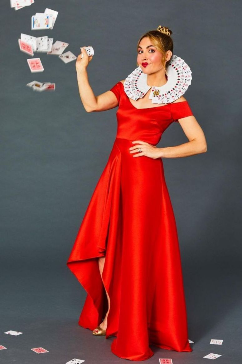 12 Super-Easy Book Character Costumes for Kids & Teachers - halloween ideas red dress