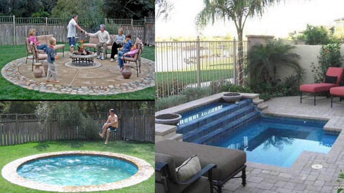 12 Swimming Pool Ideas for Small Backyards - pool ideas small yard