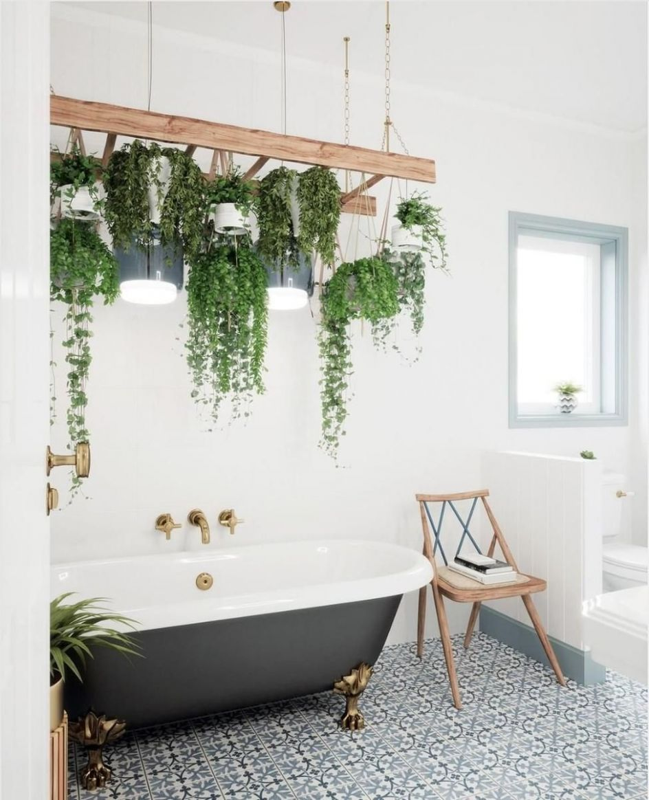 12 unexpected ways to decorate with houseplants (With images ...