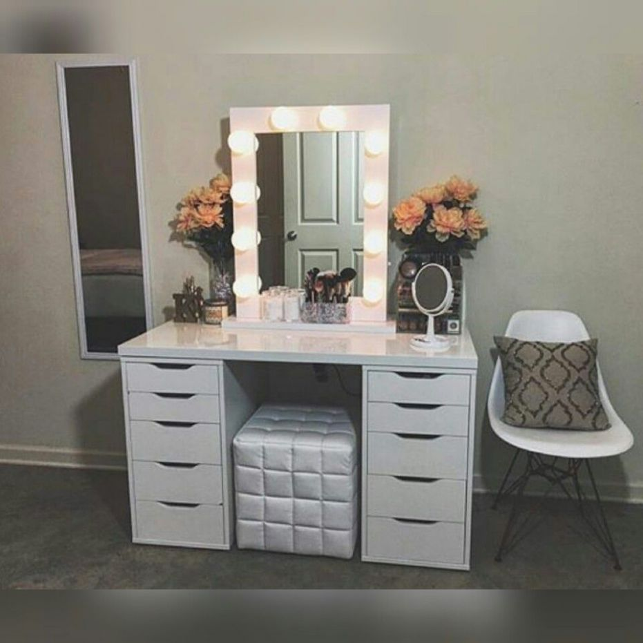 12+ Vanity Mirror with Lights Ideas (DIY or BUY) for Amour Makeup ...