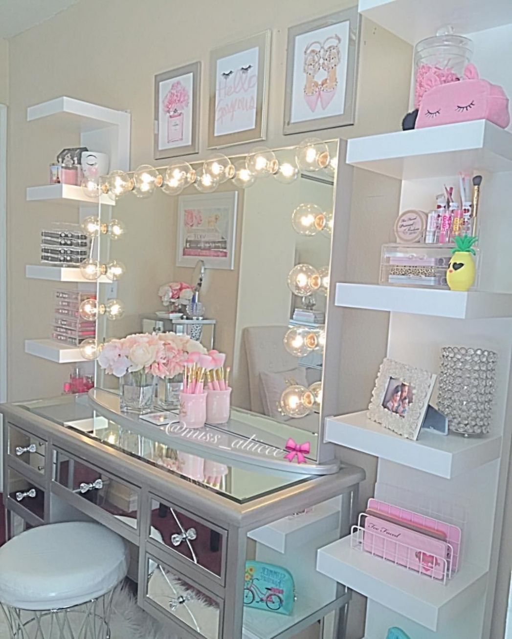 12+ Vanity Mirror with Lights Ideas (DIY or BUY) for Amour Makeup ..