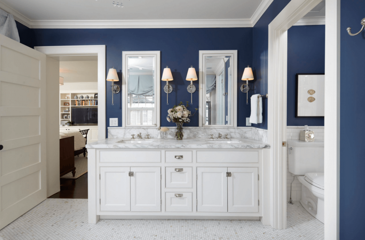 12 Ways to Add Color Into Your Bathroom Design | Freshome
