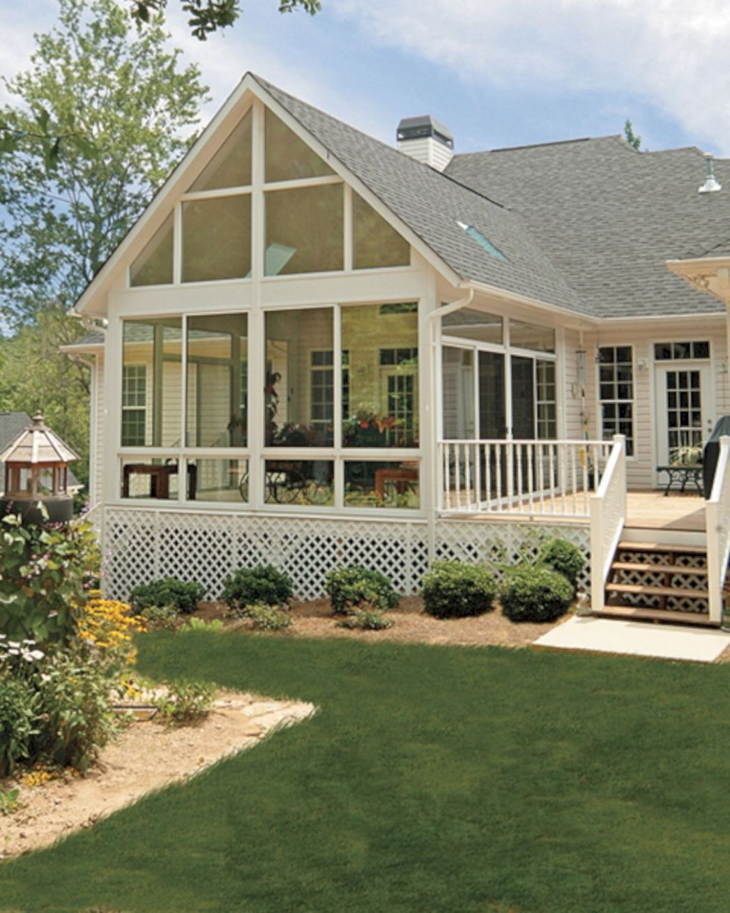 12 Ways To Have More Appealing Screened Porch Deck   Porch design ...