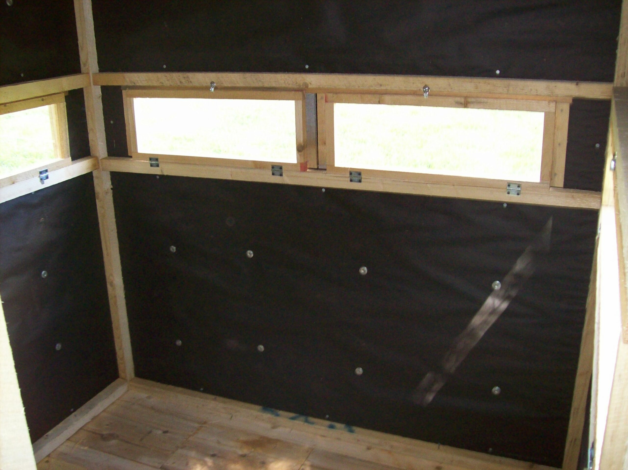 12x12 Two Person Seater Deer Blind