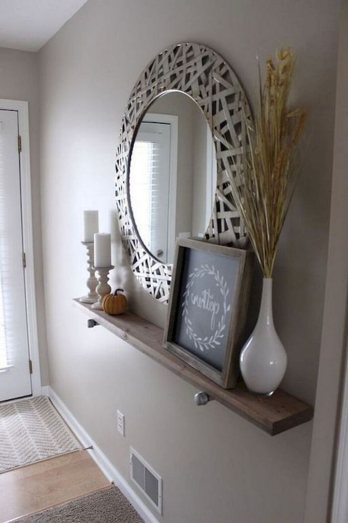 8+ Awesome Modern Farmhouse Entryway Decorating Ideas | Entryway ...