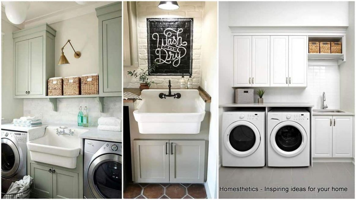 8 Beautifully Inspiring Laundry Room Cabinets Ideas to Consider ...