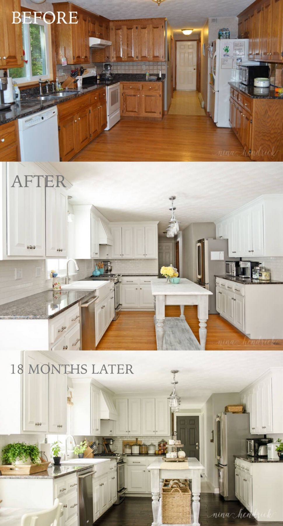 8+ Before and After: Budget Friendly Kitchen Makeover Ideas and ..