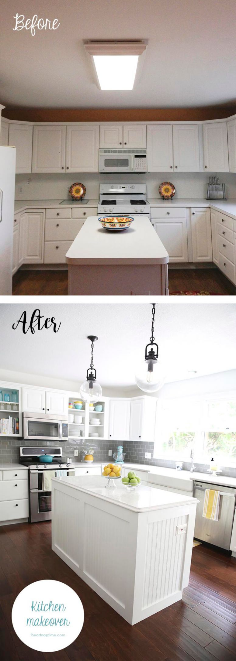8+ Before and After: Budget Friendly Kitchen Makeover Ideas and ...