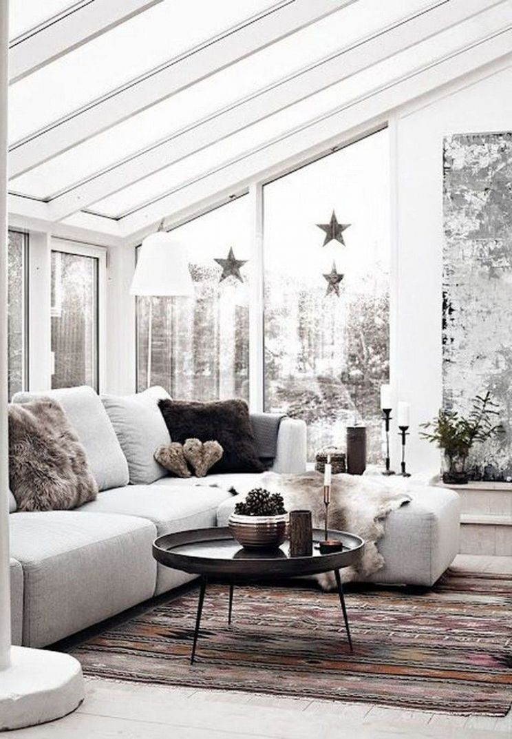 8+ Best And Airy Scandinavian Sunrooms Design Ideas | Home decor ..