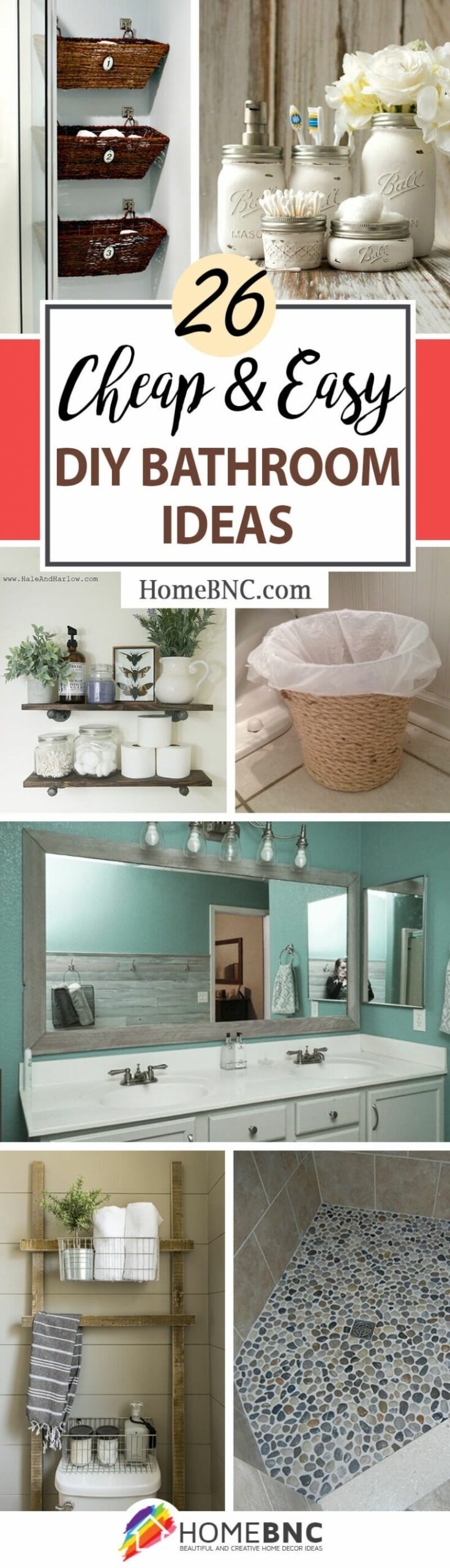 8 Best DIY Bathroom Ideas and Designs for 8