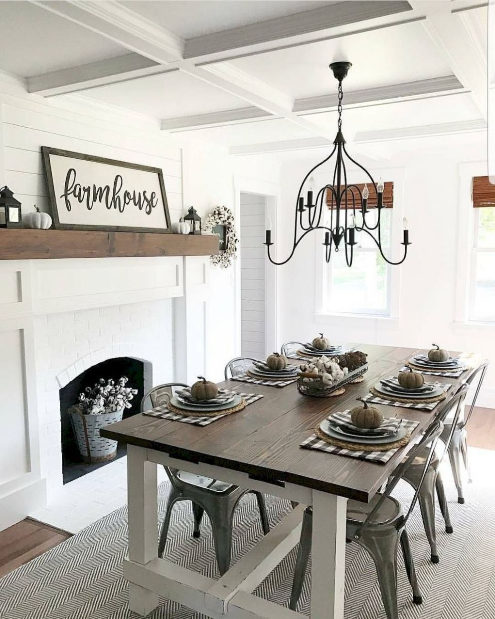 8 Best Farmhouse Dining Room Makeover Decor Ideas | Farmhouse ..