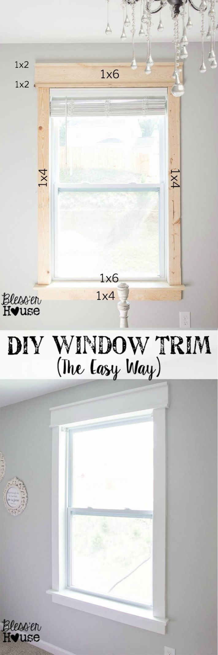 8 Best Molding Ideas and Designs for 8 - window molding ideas