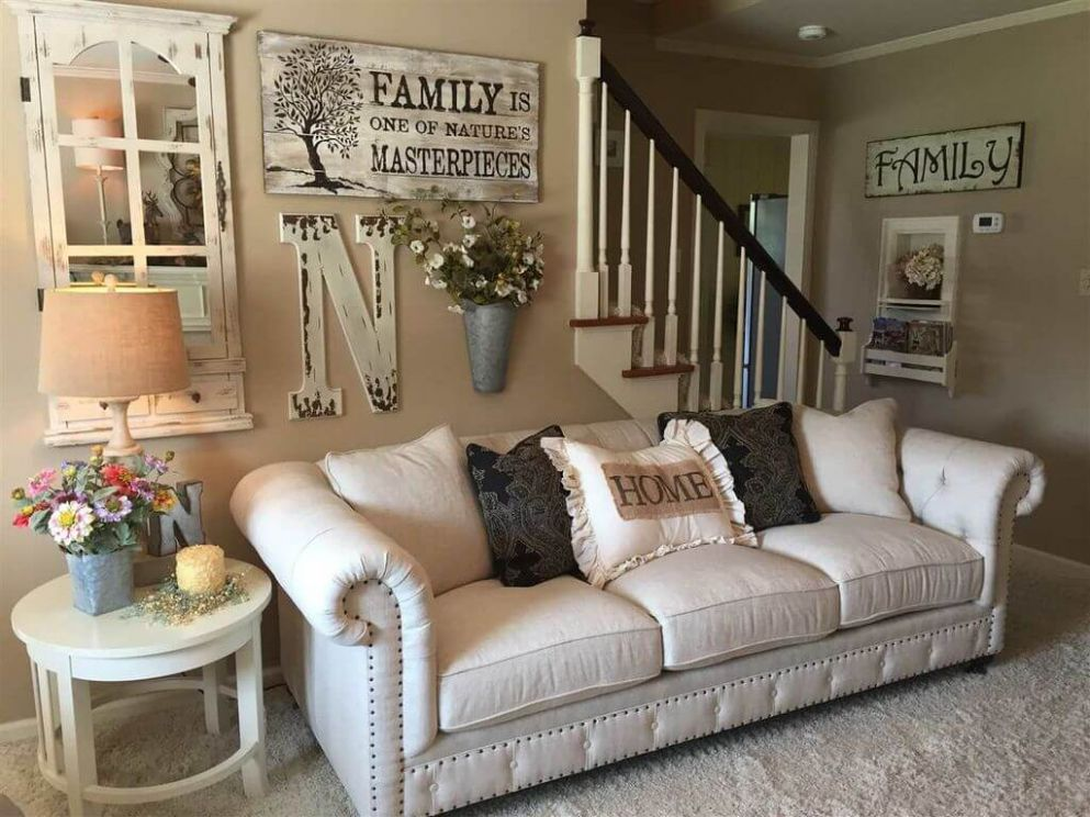 8 Best Rustic Living Room Wall Decor Ideas and Designs for 8