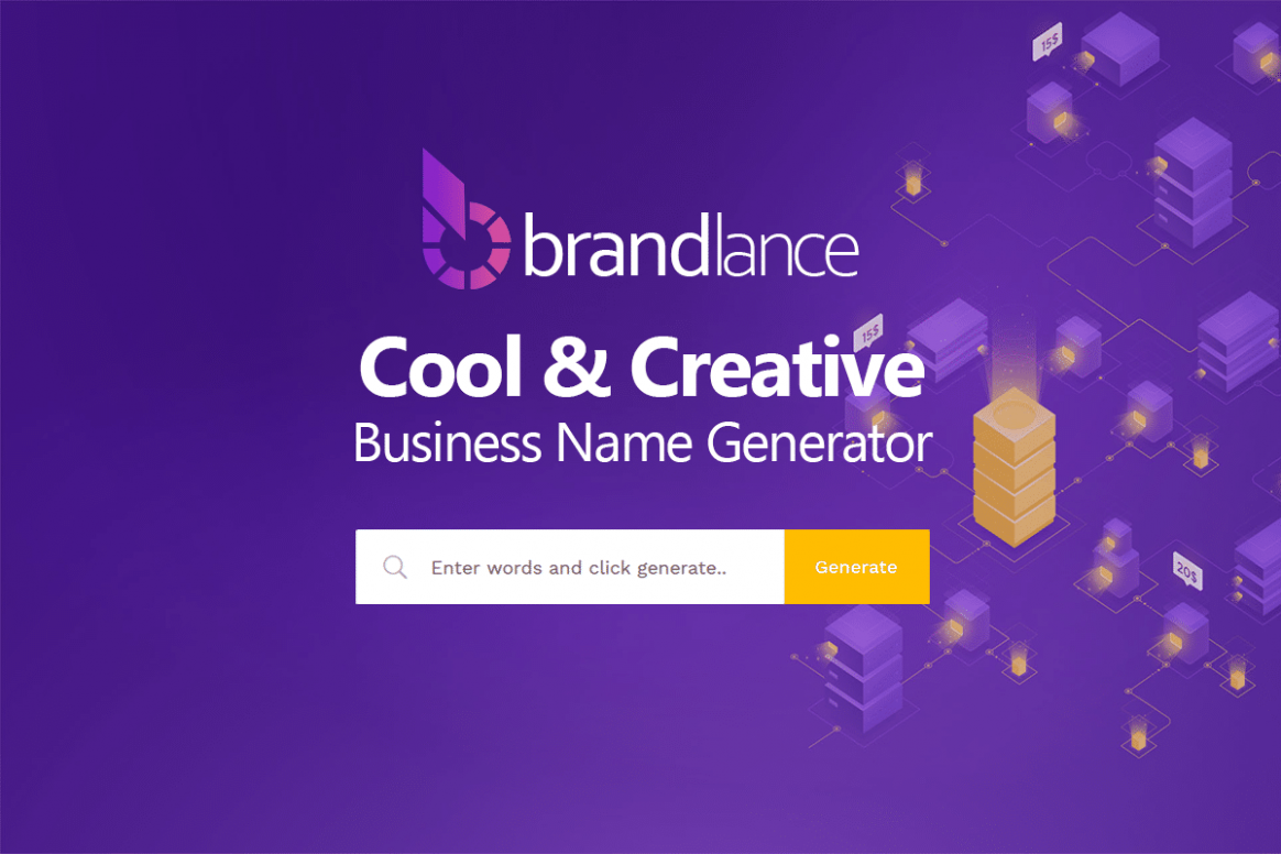 8 Cool & Creative Company Names Ideas List Generator - Brandlance - home office business name ideas