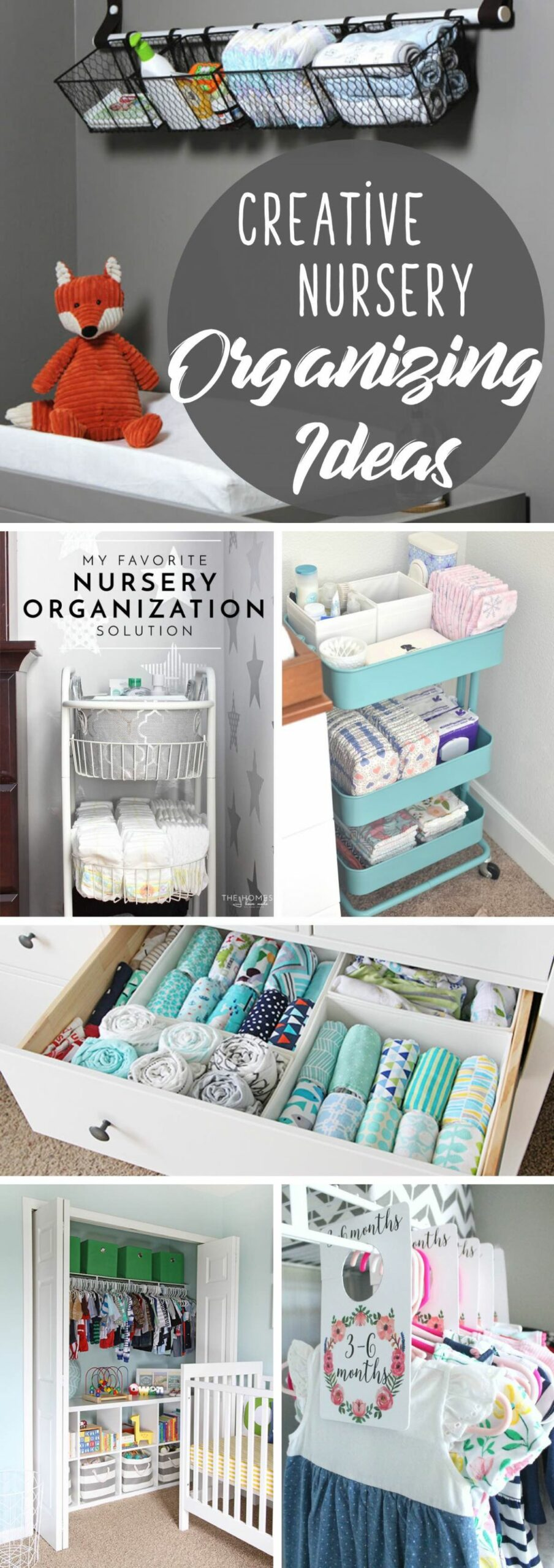 8 Creative Nursery Organizing Ideas Making the Baby Room Look ..