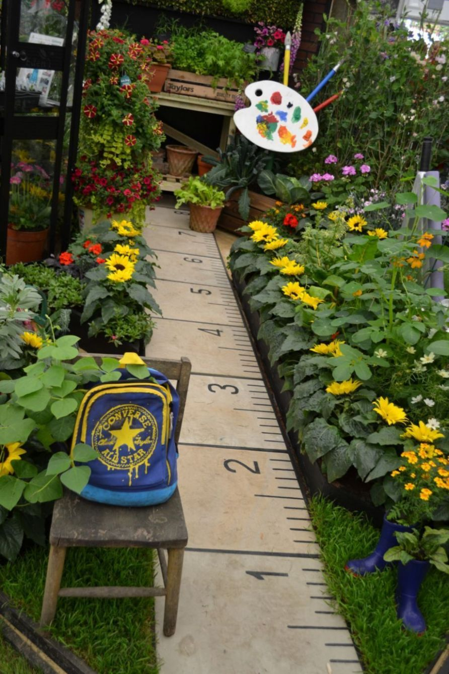 8 Cute and Simple School Garden Design Ideas (With images) | Diy ...