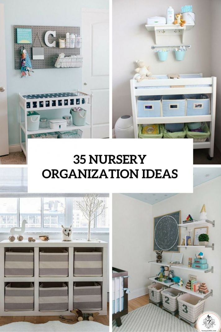 8 Cute Yet Practical Nursery Organization Ideas (DigsDigs) | Baby ..