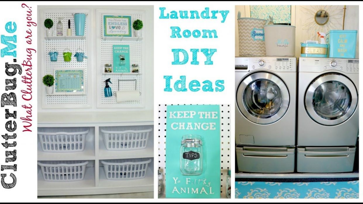 8 Easy DIY Laundry Room Ideas On A Budget | Laundry room diy, Diy ..