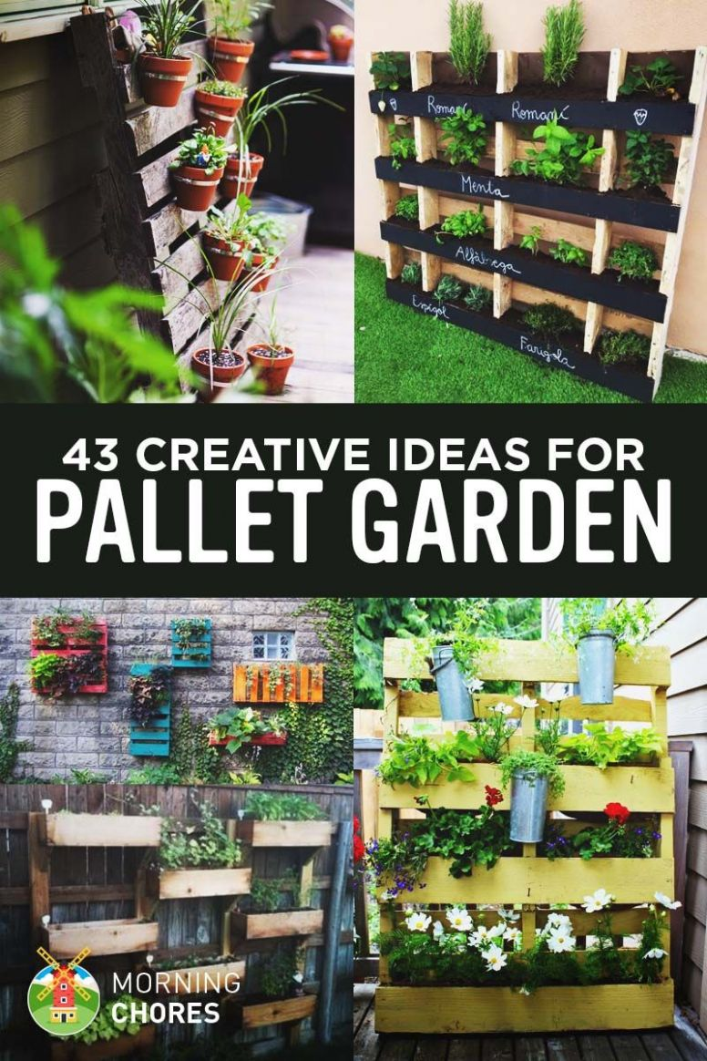 8 Gorgeous DIY Pallet Garden Ideas to Upcycle Your Wooden Pallets ..