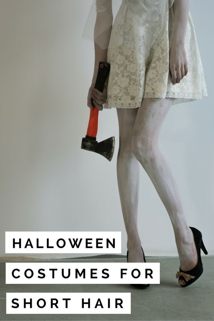 8 Halloween Costumes for Short Hair | valery brennan - halloween ideas short blonde hair