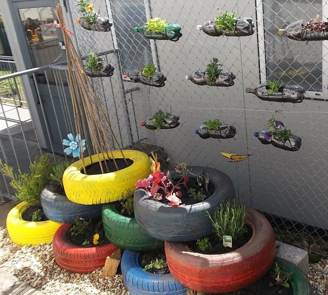 8 Ideas For School Gardens, Awesome and also Beautiful | Sensory ..