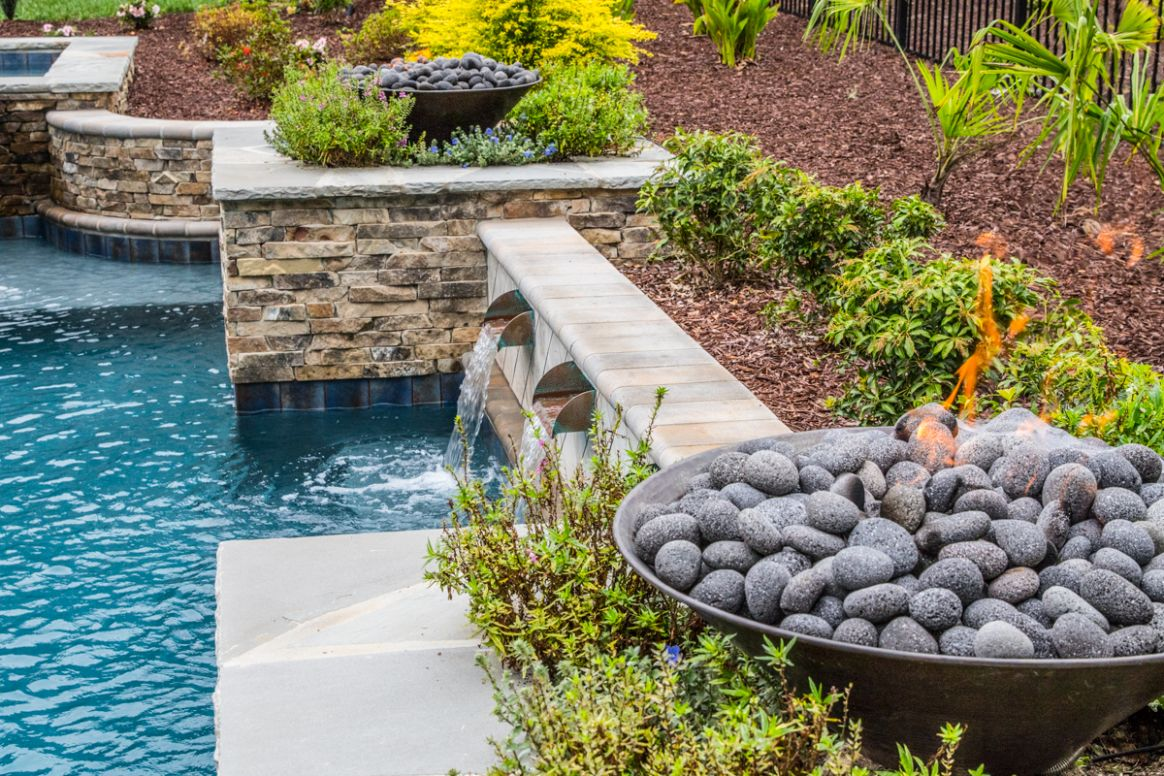 8 Ideas from a Pool Hardscape Designer | Blue Haven Raleigh - pool hardscape ideas