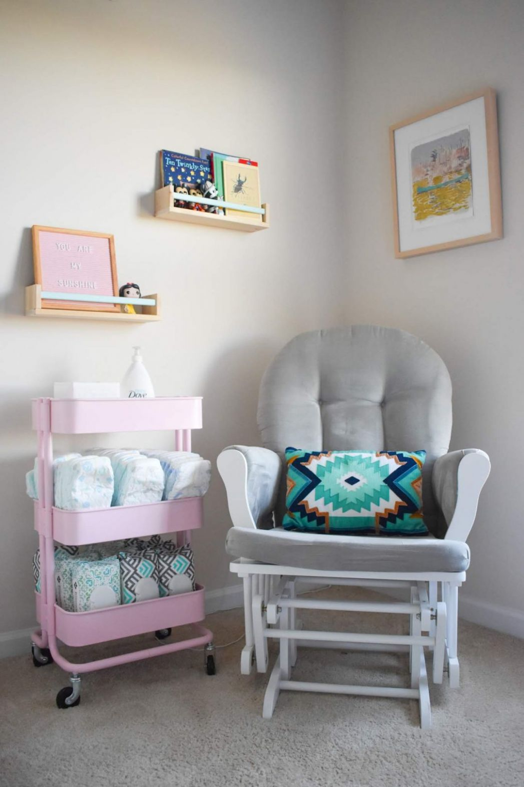 8 Ikea Hacks for a Modern Baby Nursery • Our Little Chaos - baby room hacks