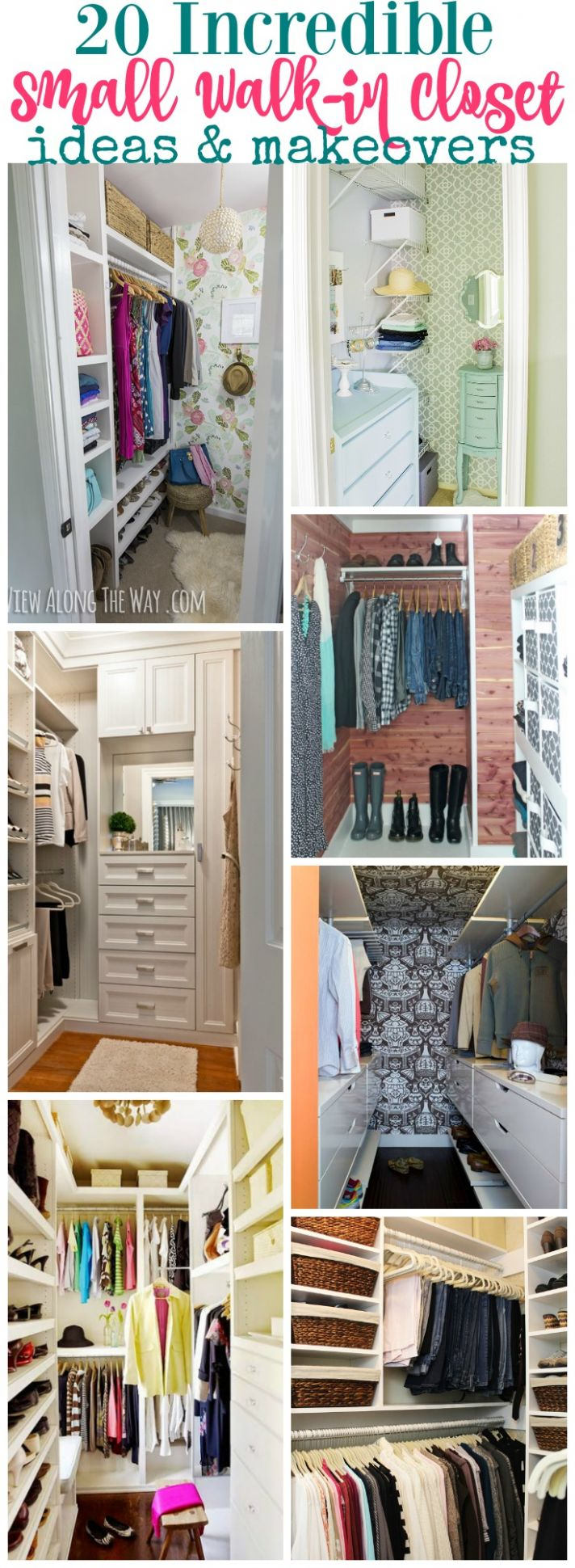 8 Incredible Small Walk-in Closet Ideas & Makeovers | The Happy ..