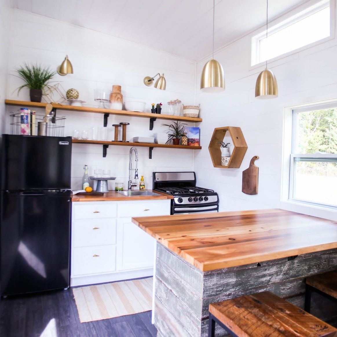 8 Incredible Tiny Home Kitchens — The Family Handyman - tiny house kitchen cabinets