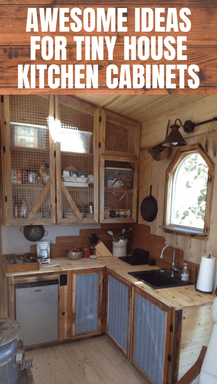 8 Kitchen Cabinets Ideas for Tiny Houses in 8 (With images ...