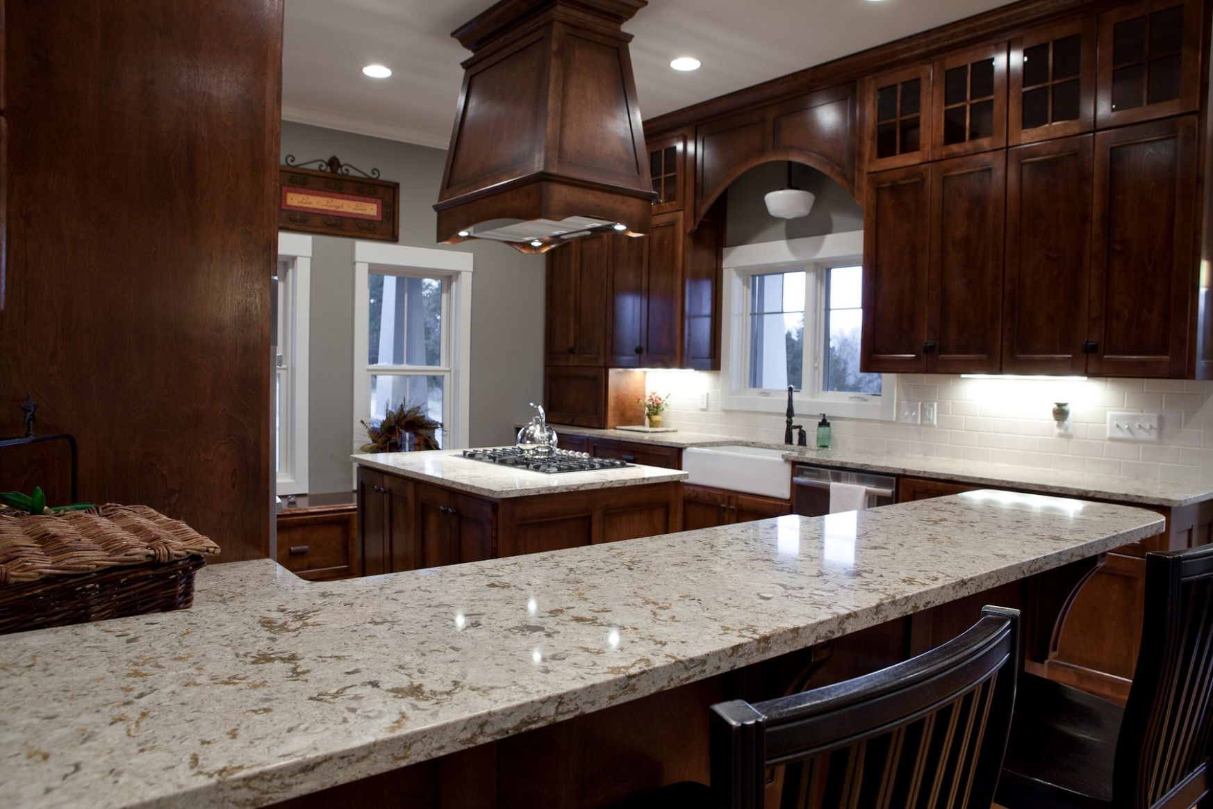 8 Kitchen Countertop Options and Ideas for 8 - kitchen ideas with quartz countertops