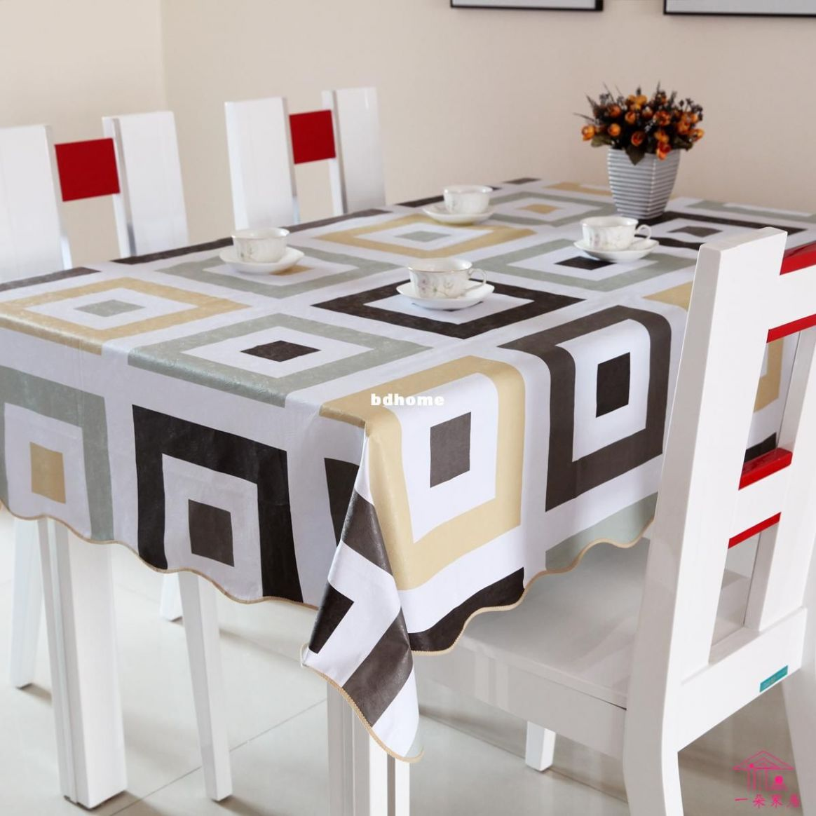 8 Marvelous Picture of Tableclothes Ideas Dining Room   Dining ..