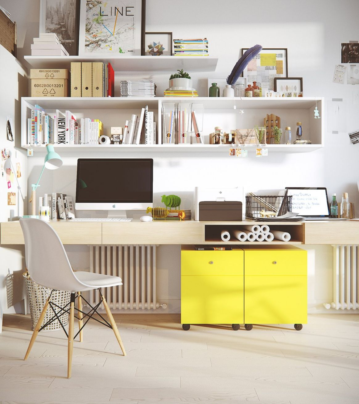 8 Modern Home Office Design Ideas For Inspiration - neat home office ideas