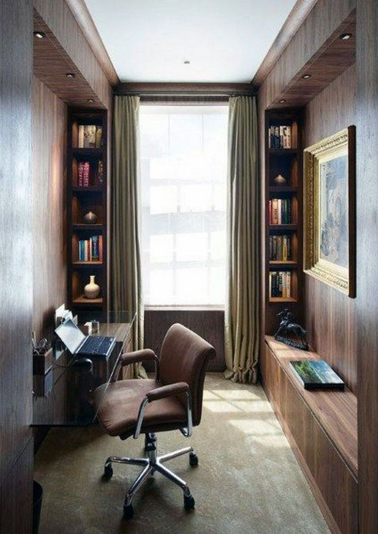 8 Modern Home Office Design Ideas For Small Apartment (With ...