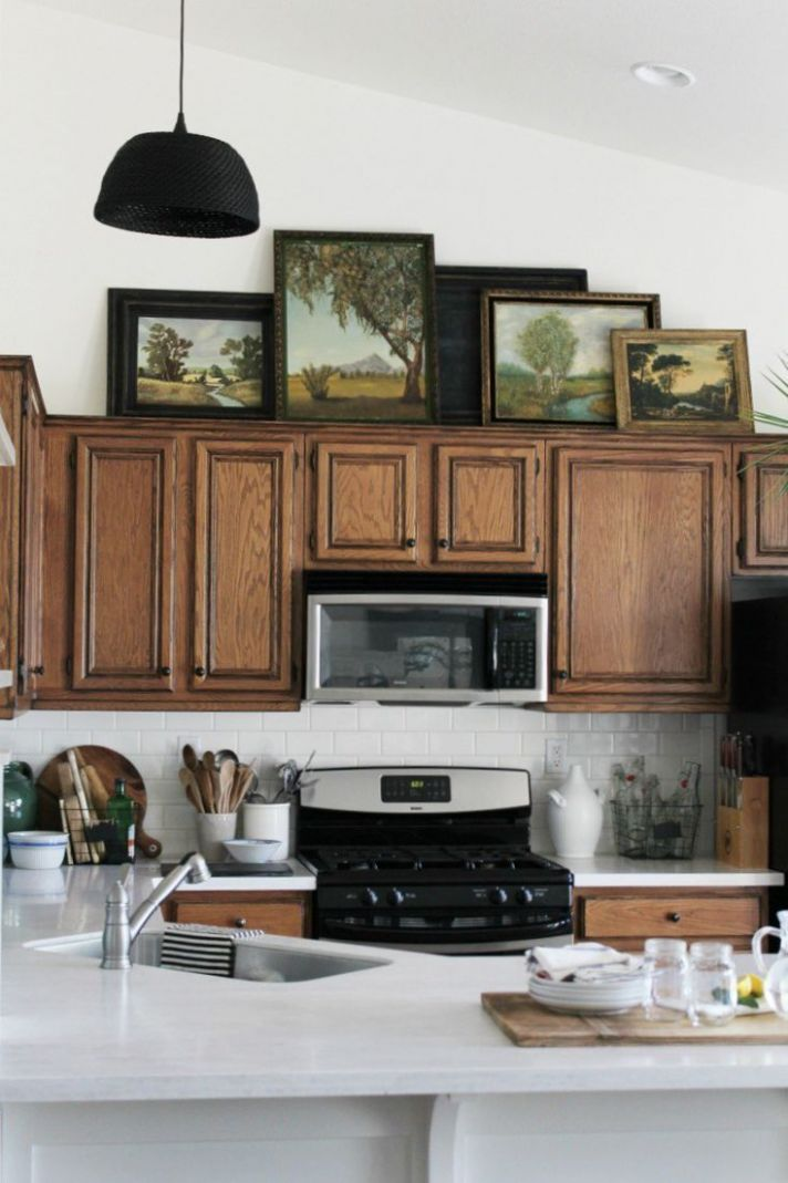 8 New Ideas for Decorating Above Your Kitchen Cabinets | Kitchen ..