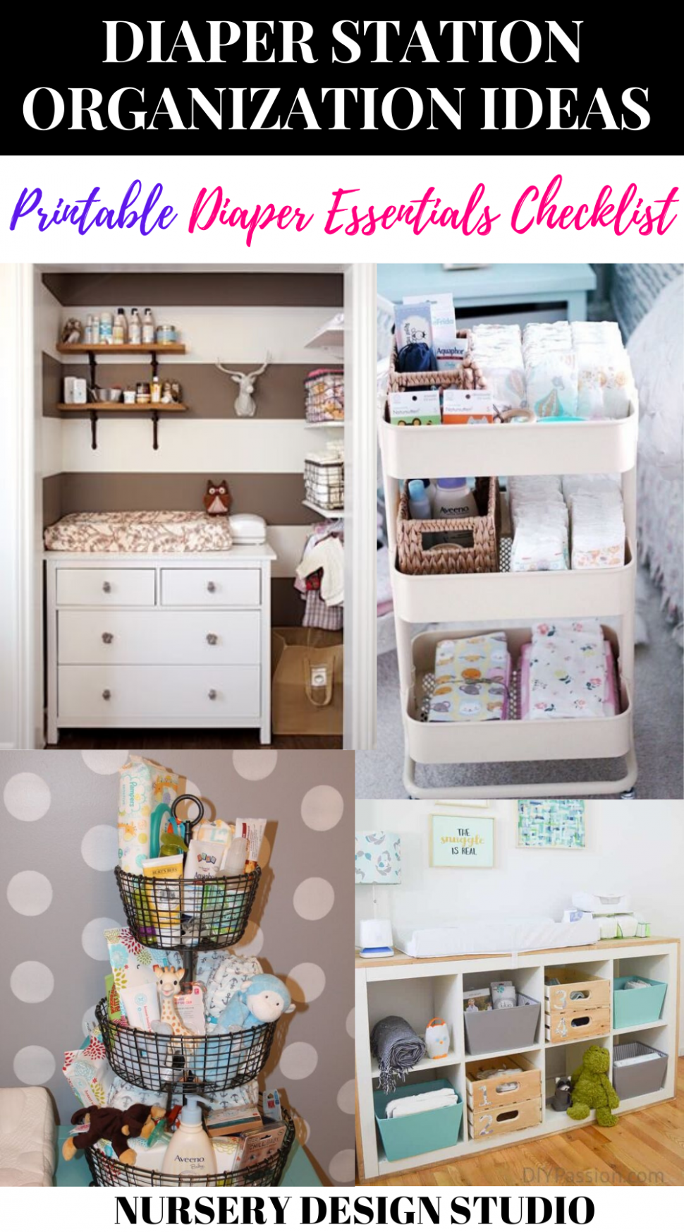 8 NURSERY ORGANIZATION TIPS TO KEEP BABY'S ROOM ORGANIZED ...