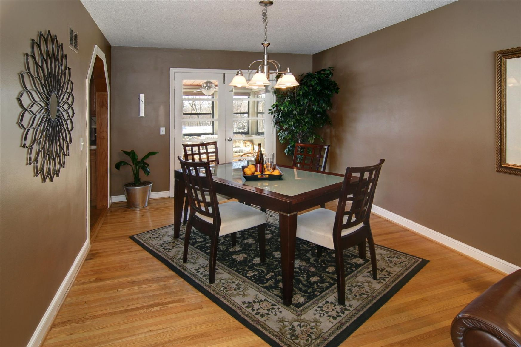 8 Rugs That Showcase Their Power Under the Dining Table - dining room ideas brown