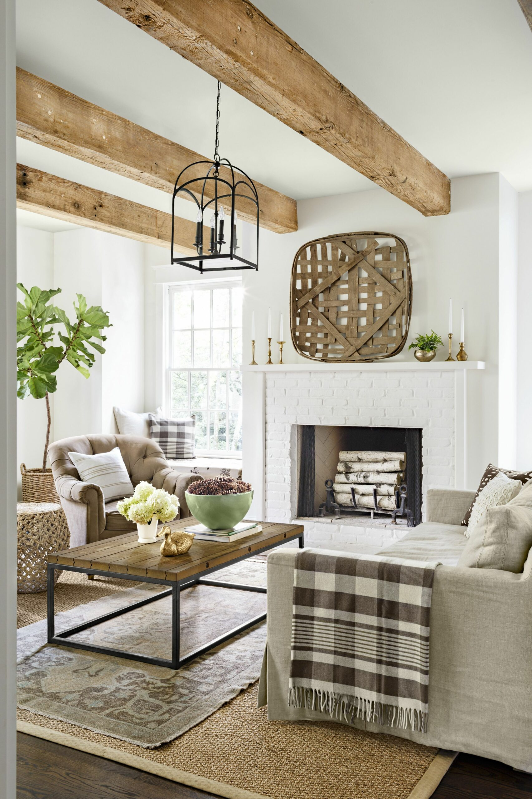 8 Rustic Living Room Ideas - Modern Rustic Living Room Decor and ..